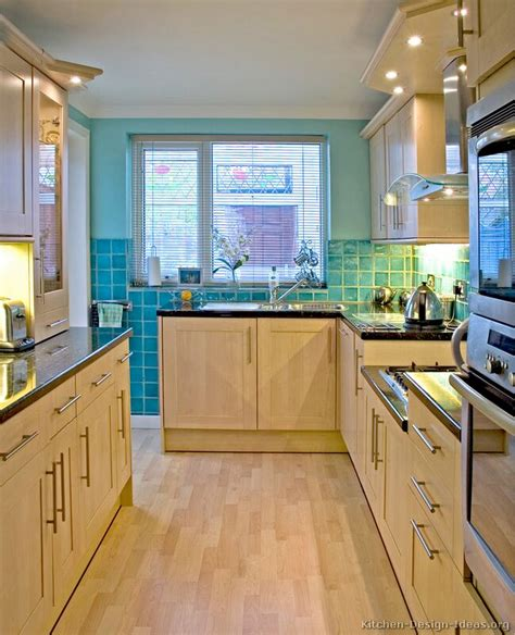 Kitchen Color Ideas With Light Wood Cabinets Pictures Of Kitchens Modern Light Wood Kitchen Cabinets Kitchen 1