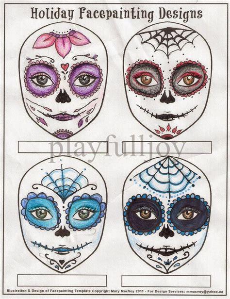 sugar skull design template 29 best sugar skulls images on sugar skull