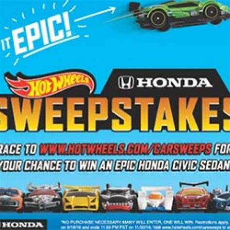 Honda Sweepstakes by Win A Honda Civic Lxcvt S Giveaways