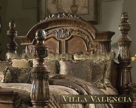 villa valencia bedroom set michael amini excelsior collection bedroom villa