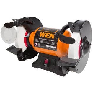 slow speed bench grinder reviews wen 8 inch slow speed bench grinder