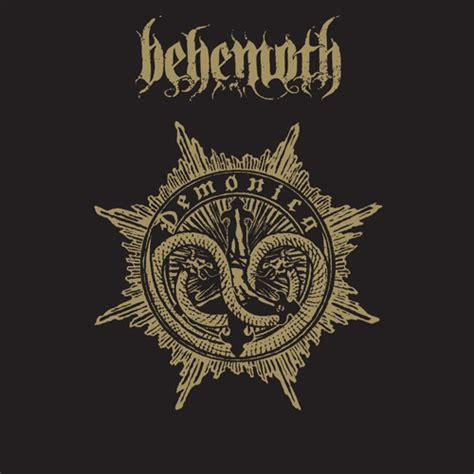 Cd Behemoth Abyssus Abyssum Invocat behemoth demonica metal blade records