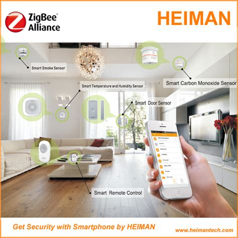 heiman best selling diy iot smart home zigbee z wave