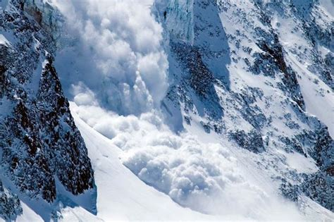 icy avalanche alps avalanche six skiers killed after
