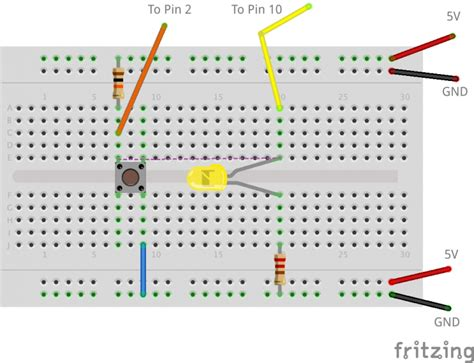 tutorial arduino millis pushbutton and flashing led with mills tutorial