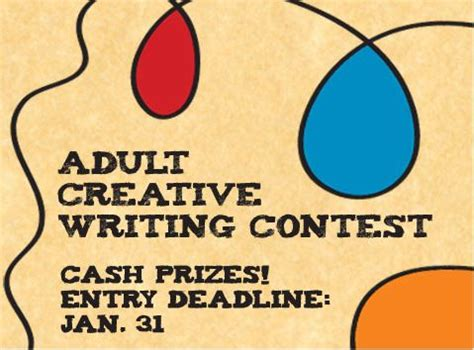 Creative Writing Essay Contest by Goals List Archives Rott I Tude