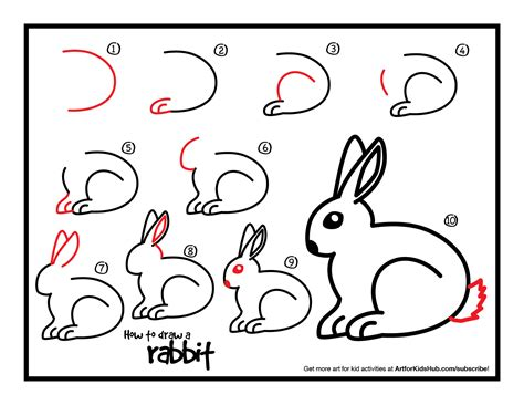 how to draw a easy bunny drawing how to draw a rabbit for of litle