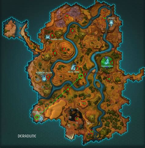 wildstar map an explorer s guide to deradune wildstar central