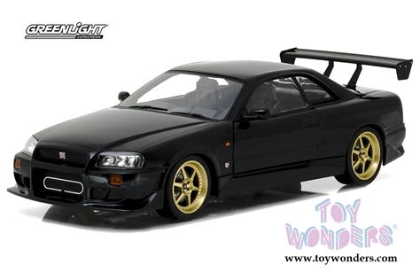 Greenlight Brians 1999 Nissan Skyline Gt R Extremely 1999 nissan skyline gt r r34 top 19030 1 18 scale