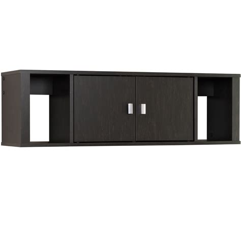 floating desk hutch in file cabinets