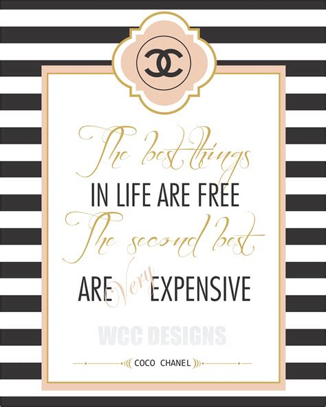 printable chanel quotes ms coco chanel please do tell on pinterest coco chanel