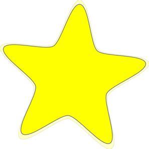 printable yellow stars yellow star 2 clip art at clker com vector clip art