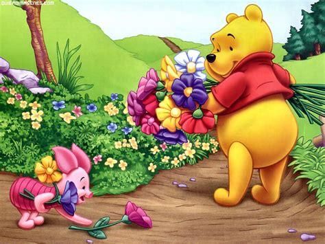 imagenes de winnie pooh con flores winnie the pooh recogiendo flores