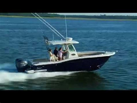 scout boats ratings scout boats 282 xsf sportfish youtube