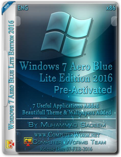 Themes For Windows 7 Ultimate Free Download 2016 | windows 7 aero blue lite edition 2016 x86 free download