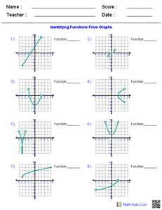 algebra 1 worksheets domain and range worksheets