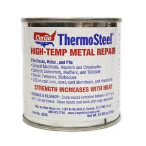 Cargo Thermosteel Exhaust System Repair Kit Cargo 8024 Thermosteel High Temp Metal Repair 25 08 Oz