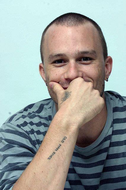heath ledger wrist tattoo best 25 heath ledger ideas on joker