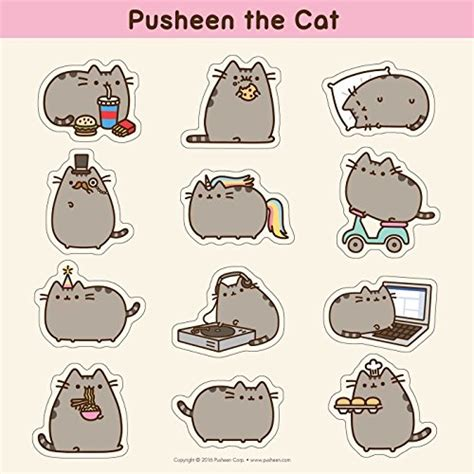 Boneka Pusheen Cat Kucing Grey Abu Abu pusheen the cat 2017 wall calendar buy in uae calendar products in the uae see