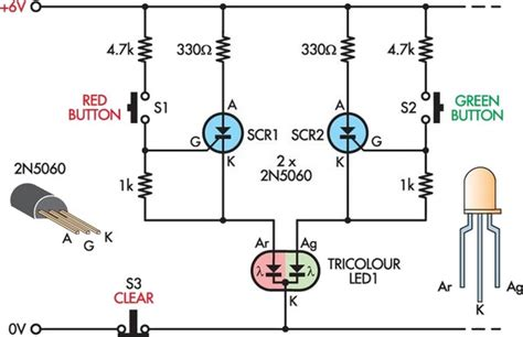 bi colour led running lights circuit diagram world multi color led circuit diagram circuit and schematics