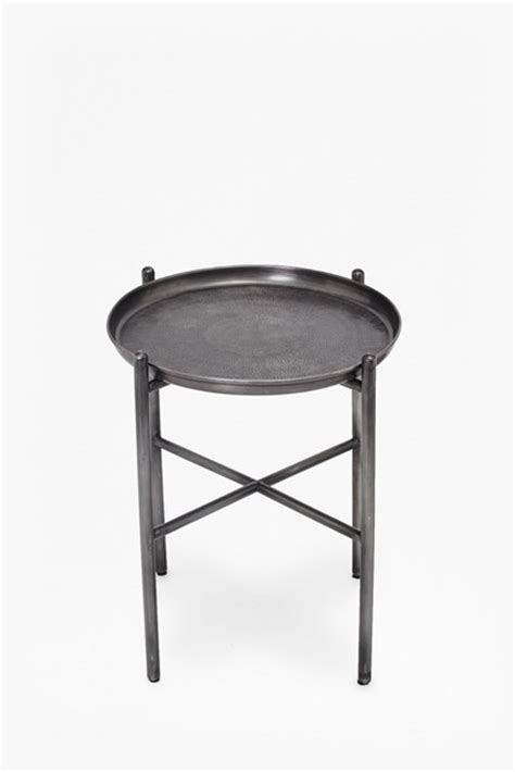 hammered metal side table hammered metal side table furniture connection