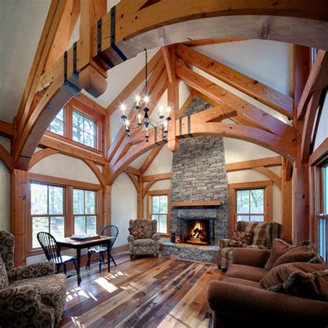 a frame home interiors timber trusses on pinterest timber frames timber frame