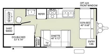 Fleetwood Mallard Travel Trailer Floor Plans 2009 fleetwood mallard sport 18ck trailer reviews