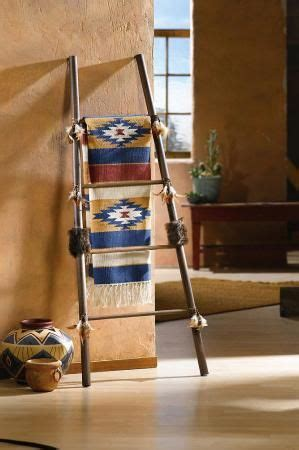 southwestern home decor 1000 ideas about quilt ladder on blanket rack