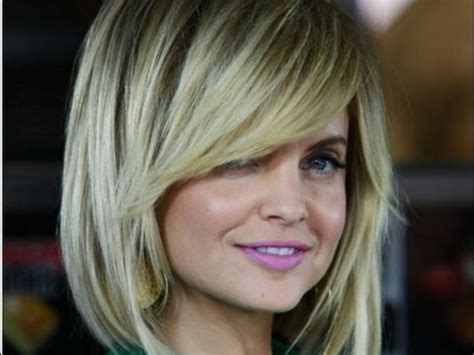 hairstyles with side bangs youtube long layered bob hairstyles with side swept bangs youtube