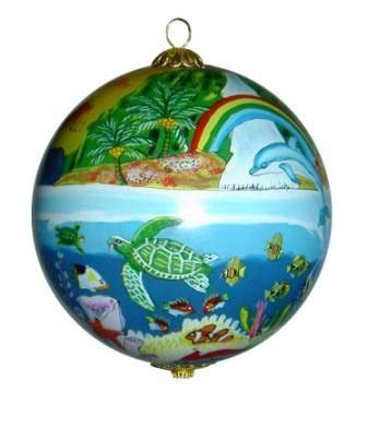 christmas ornaments hawaii tropical christmas tree store
