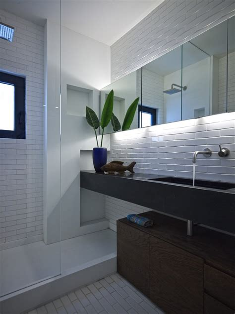 white bathroom subway tile benefits of using subway tile backsplash decozilla