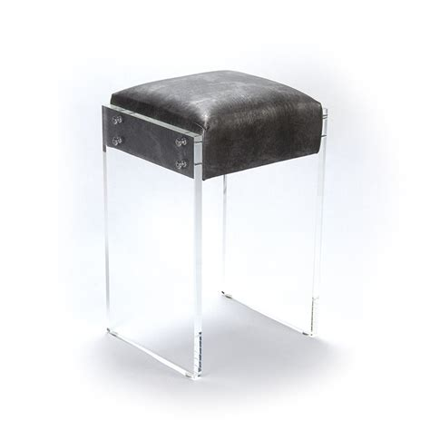 Acrylic Stool by Zentique Acrylic Counter Stool