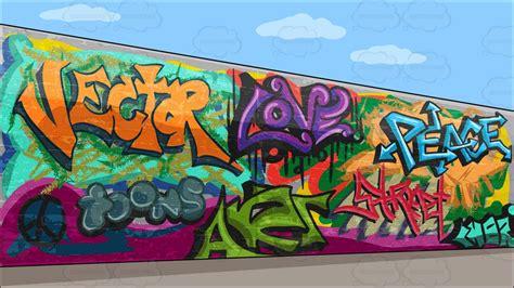 cartoon graffiti wallpaper cartoon clipart a graffiti wall background