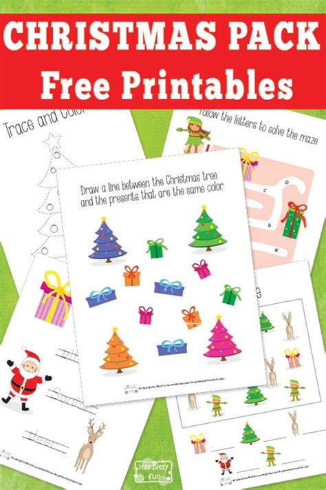 printable christmas party games pack download printable pack itsy bitsy