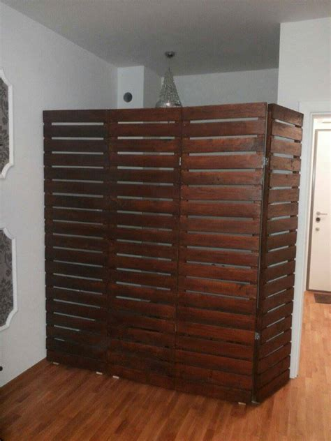 wood room dividers pallets room divider