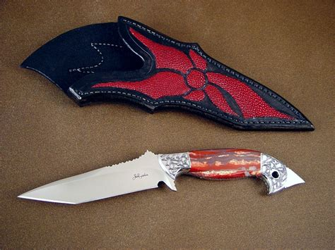 art pattern and knife leicester quot mercurius magnum quot fine tactical art knife by jay fisher