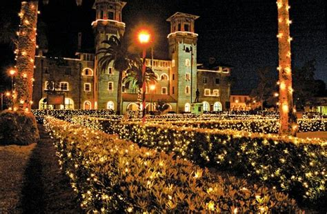 christmas st augustine florida places i would like to