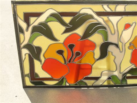 ebay stained glass ls 3 mid century ben mayer glass stained leaded window