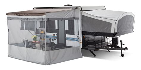 pop up cer awning screen room 2017 jayco jay series sport tent trailer rv centre