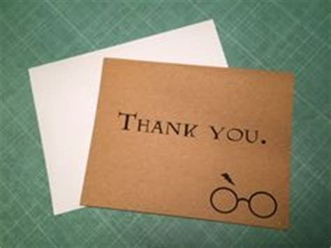hp printable thank you cards harry potter thank you card printable thank you card