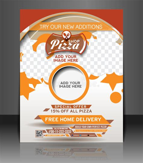Pizza Shop Flyer Stock Vector Image 41725348 Royalty Free Flyer Templates