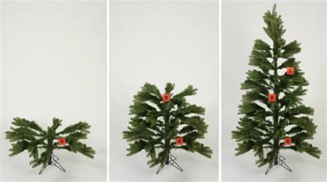 how to put up achristmas tree without a stand how to assemble your artificial tree