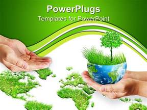 Save Powerpoint Template by Powerpoint Template Save The Trees 11255