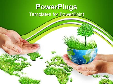 environment templates for powerpoint free download powerpoint template save the trees 11255
