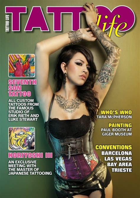 tattoo life magazine pin magazine on