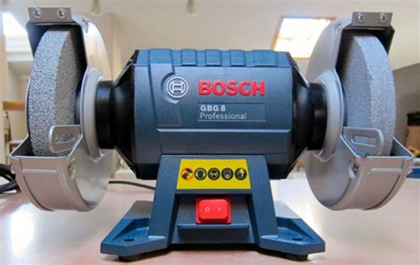 bench grinder bosch bosch 600w 8 quot double wheeled bench grinder my power tools