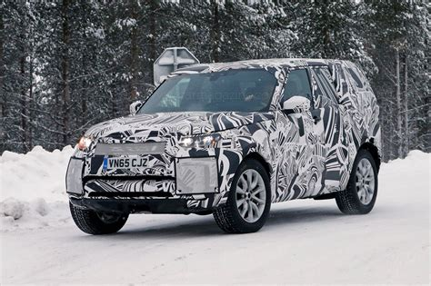 new land rover defender 2016 a new discovery land rover s 2016 disco spied plus info