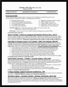 chief financial officer resume doc 28 images sle cover letter sle resume for cfo workalpha