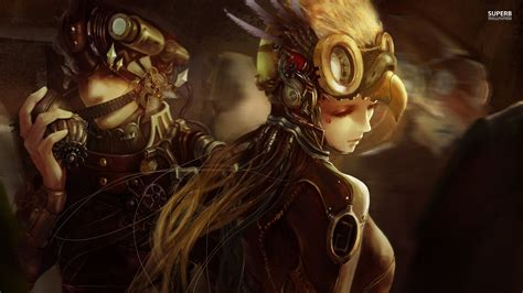 anime punk girl wallpaper steunk anime wallpapers everything steunk