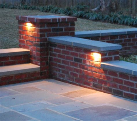 Patio Wall Lighting 17 Best Images About Patio On Pits Brick Patios And Outdoor Lighting
